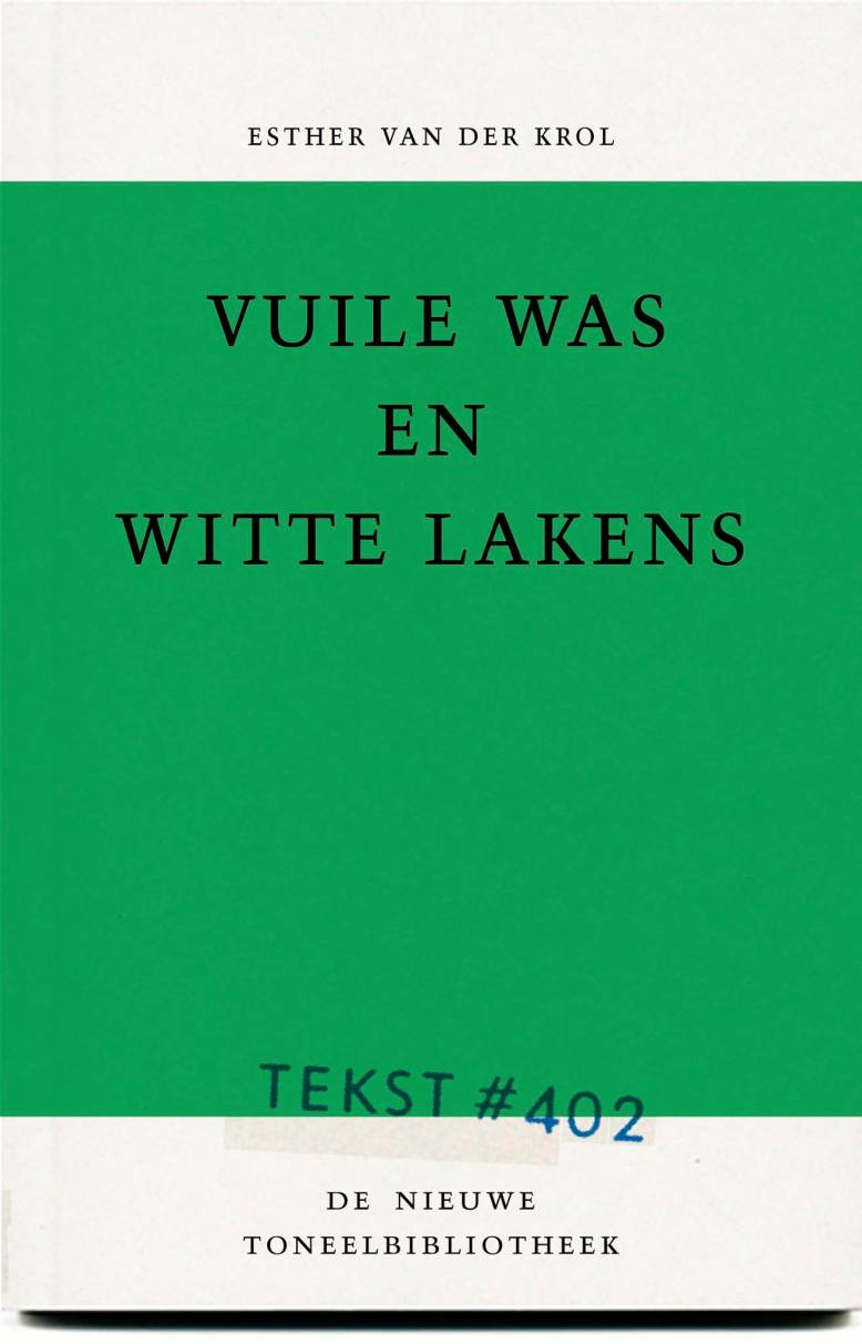Vuile was en witte lakens cover